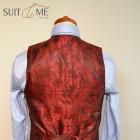 Dvouřadá vesta k obleku