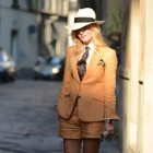 Letní blazer s kraťásky (British Style)