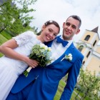 Svatební oblek pro našeho zákazníka