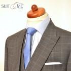 Trojdílný oblek peak lapels